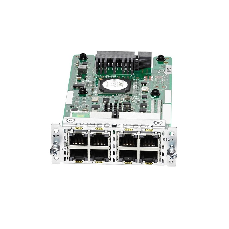 Cisco 8-Port GE Switch Network Interface Module NIM-ES2-8
