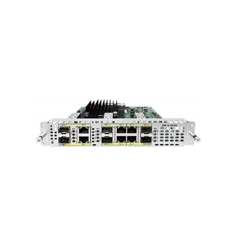 Cisco 6-Port High-Density GE WAN Service Module SM-X-6X1G