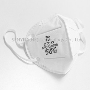 N95 medical mask anti pollution and anti virus non-woven mask
