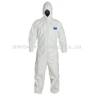 High quality Disposable isolation and pollution prevention protective suit
