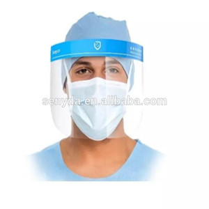 Protective Mask Clear Vision Factory Wholesale Safety ppe Face Shield