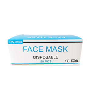 Mass Supply Disposable Anti-virus Dustproof 3 Ply Face Mask