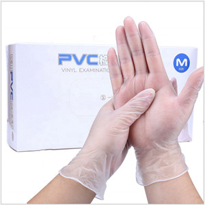 Wholesale Price PVC Material Disposable Vinyl Examination Gloves With CE