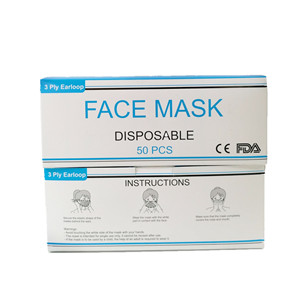 Anti-virus Dustproof 3 Ply Non-woven Face Mass Supply