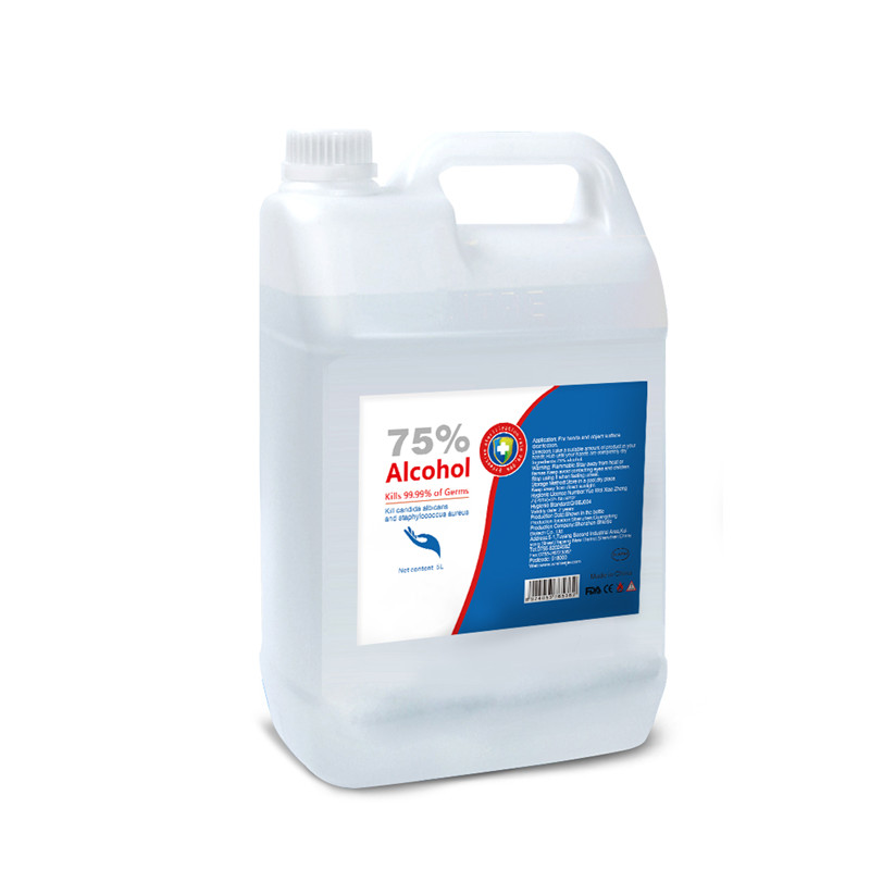Household Industrial 75% Alcohol Disinfectant 5L Barrel Type Disinfectant