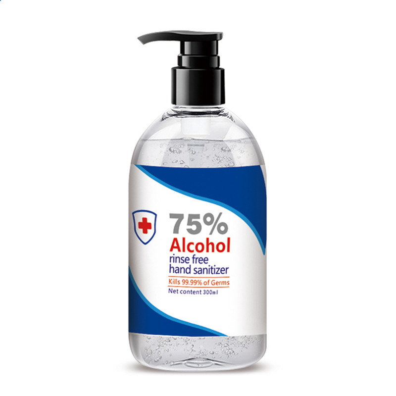Supply 60ml 75% Alcohol Hand Sanitizer Gel Rinse-Free Disinfectant Skin Care