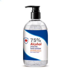 Wholesale Household 300ml 75% Alcohol Hand Sanitizer Rinse-Free Disinfectant Gel