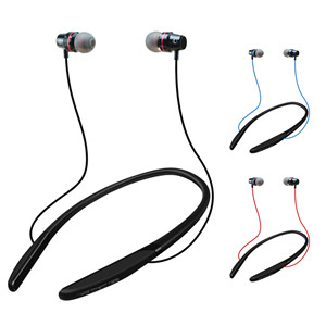 Sweat Proof Wireless Bluetooth Earphone Sporty Headset with Magnetic Earbuds
